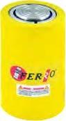 FERRO - CRS20-102 Hidrolik Tek Etkili Silindir 700 Bar 20 Ton 102 mm