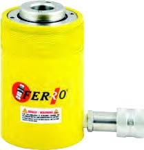 FERRO - CRSSH60-165 Hidrolik Tek Etkili Ortası Boş Silindir 700 Bar 60 Ton 165 mm
