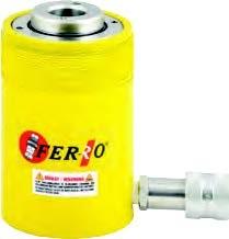 FERRO - CRSSH90-55 Hidrolik Tek Etkili Ortası Boş Silindir 700 Bar 90 Ton 55 mm