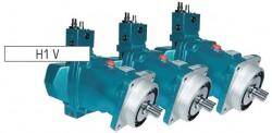 SAMHYDRAULIK - H1V 108 LS+TP Load Sensing Kontrol+B. Regülasyonu PİSTONLU POMPA