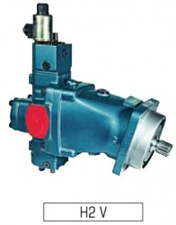 SAMHYDRAULIK - H2V108 2EM+PE Elektrikli Oransal+Basınç Kontrol PİSTONLU MOTOR