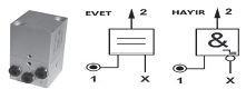 UNIMET - U08.049.4 EVET(YES) Valfi