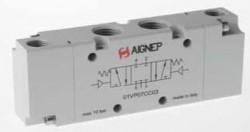 """AIGNEP - 01V P0 7 PC2 1/8"""" Çift Hava 5/3 P.M."""