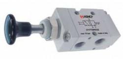 """AIGNEP - 01V T0 3 NC 02 1/8"""" Düğme - Yay 3/2 N.K."""