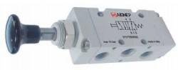 """AIGNEP - 01V T1 5 00 03 1/4"""" Düğme - Düğme 5/2"""