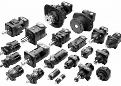 SAUER DANFOSS - 151-6461 OMR 80F/NF cc/d 25 mm Negatif Frenli Motor