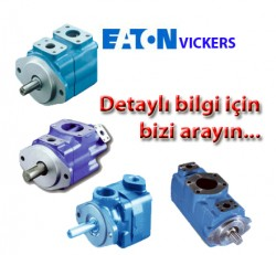 EATON VICKERS - 4520V50A811AA22R 02-137376-AAR Tandem Pompa 4520Y 50- 8 galon