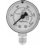 PAKKENS - 50 mm 050 200 ALTTAN BAĞLANTILI VAKUMETRE