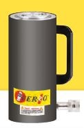 FERRO - CRAS100-55 Hidrolik Tek Etkili Alüminyum Silindir 700 Bar 100 Ton 55 mm