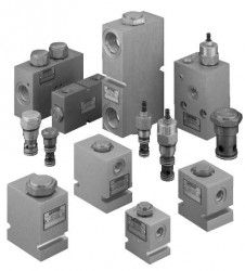 EATON VICKERS - CVI 250202M10 580068 Kontrol valfı NG25 Kartriç 550 lit A Oranı 1/2Yön
