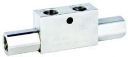 FERRO - DCG12N 1/2'' BSP Hidrolik İkiz Kilit Valfi 360 Bar
