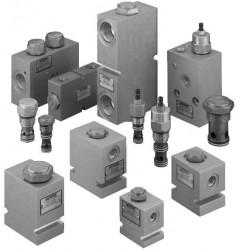 EATON VICKERS - FCV7-10-S-0-NVF 02-113019 C-10-2 Hassas kısma valfı, 38 lt/dak, 210 bar, vida ayarlı çeksiz