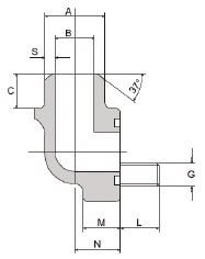 CIOCCA - FS280-90°-ST 1/2