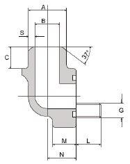 CIOCCA - FS300-90°-ST 3/4