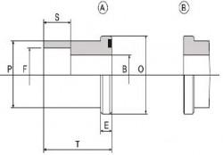 CIOCCA - C4034-S-A / B 1 1/4