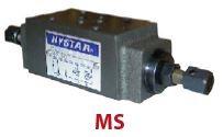 HYSTAR - MSB01X20 B HATTI NG6 / NG10 MODÜLER DEBİ AYAR VALFİ (CETOP 3-5)