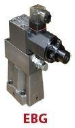 HYSTAR - EBG-06-H-20 P (Basınç) Kontrolü (CETOP 7-8-10) NG16/NG25/NG32 ORANSAL (PROPORTIONAL) BASINÇ EMNİYET VALFİ