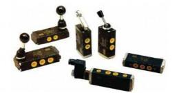 WAIRCOM - EKC 4/T Düğme Yay EK 3/2 Pnömatik Valf