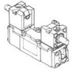UNIVER - BE-4970 ISO2-5/3 Kapalı Merkez Spool ISO2 SERİSİ VALF