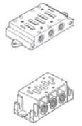 "UNIVER - BF-4061 ISO4 1"" BAĞLANTI PLEYTİ Tekli"