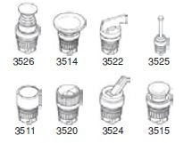 UNIVER - AI-3511 Buton Yay Dönüşlü Gömülü Tip MEKANİK OPERATÖR