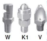CYCO - CCP-1/4M-136SS 1/4'' – 2mm Orfsli, 20lt/dk Debili Çizgisel Üleme Nozulu