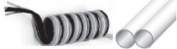 MEBRA - SMTE2,5X4D61 3'lü 3 x (4x2,5) -40°C - +60°C PU Poliüretan Spiral Birleşik (Çoklu) Hortum