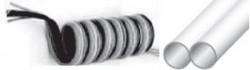 MEBRA - SMTE6X8D673 3'lü 3 x (8x6) -40°C - +60°C PU Poliüretan Spiral Birleşik (Çoklu) Hortum