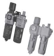 "MINDMAN - MACP400-15A 1/2"" FR+L+m İkili Şartlandırıcı Manometreli"