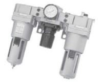 "MINDMAN - MACT400-15A 1/2"" F+R+L+m Üçlü Şartlandırıcı Manometreli"