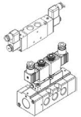 MINDMAN - MVSE-300-4E1 3/8'' 5/2 T. B. Valf 2-12 BAR MVSE Serileri 1/4'' - 3/8'' - 1/2'' - 1'' Ölçülü 0-12 BAR 5/2 – 5/3 Selenoid Valf MINDMAN ELEKTRİK KONTROLLÜ
