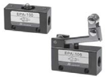 "MINDMAN - EPA-108RA 1/8""-3/2 RESET VALFİ ( ACİL STOP) Minyatür MEKANİK KUMANDALI VALF"