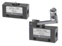 "MINDMAN - EPA-109 (R.Y.G.B.) 1/8""-3/2 ŞALTER VALF Minyatür MEKANİK KUMANDALI VALF"