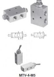 MINDMAN - MVHA-4V ŞALTER MİNYATÜR Minyatür MEKANİK KUMANDALI VALF