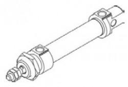 MINDMAN - 25 Ø12 ISO-6431 MCMI SERİSİ STANDART MANYETİK KALEM SİLİNDİR