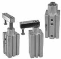 MINDMAN - 10 25 9,5 mm MCKC 90° MANYETİK DÖNER SIKIŞTIRMA SİLİNDİR (SWING CLAMP)