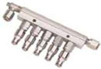 ILC SRL - 01.525.0 Manıfold U 6 Ways M12*1 inlet Çoklu Manifold